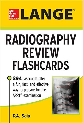 LANGE Radiography Review Flashcards