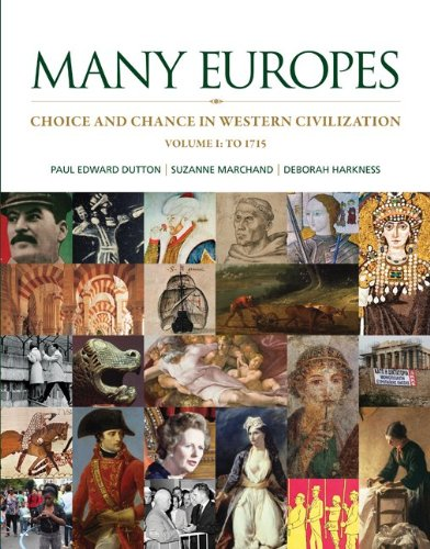 Many Europes, Volume 1 with Connect Plus Access Code