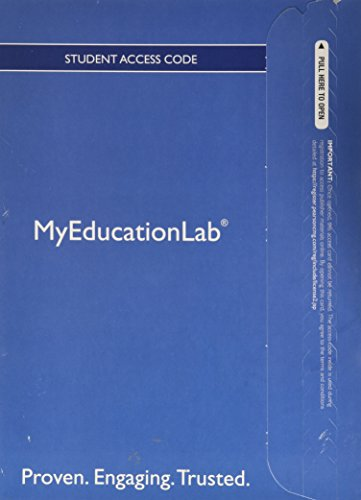 NEW MyLab Education with Pearson eText -- Standalone Access Card -- for Child Development and Education