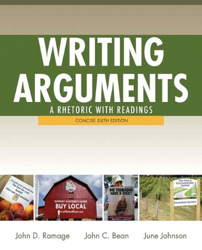 Writing Arguments with MyWritingLab Access Card Package