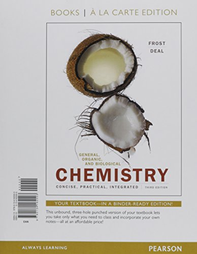 General, Organic, and Biological Chemistry, Books a la Carte Plus Mastering Chemistry with Pearson Etext -- Access Card Package