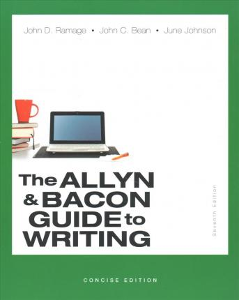 Allyn & Bacon Guide to Writing, The, Concise Edition; What Every Student Should Know about Citing Sources with APA Documentation