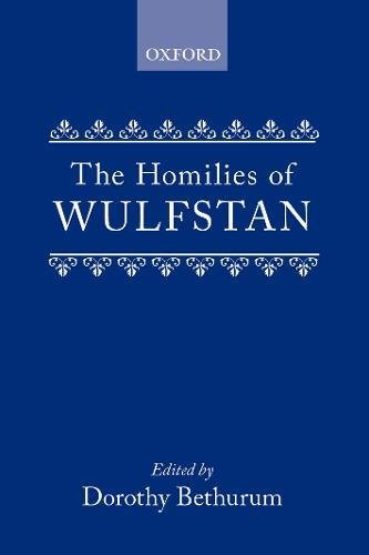The Homilies of Wulfstan