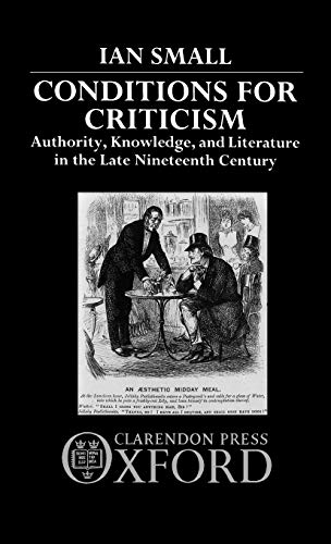 Conditions for Criticism