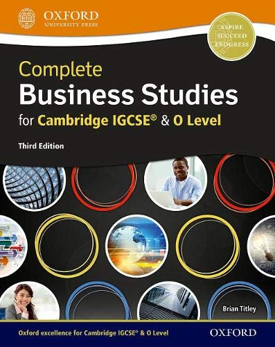 Complete Business Studies for Cambridge IGCSE (R) and O Level
