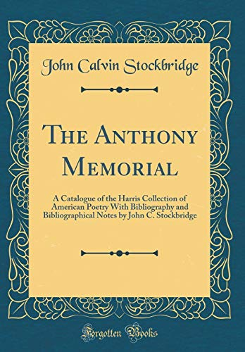 The Anthony Memorial