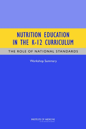 Nutrition Education in the K-12 Curriculum