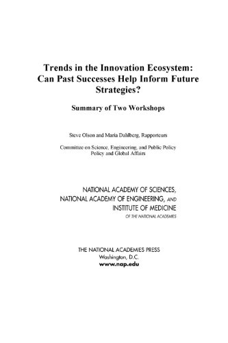 Trends in the Innovation Ecosystem