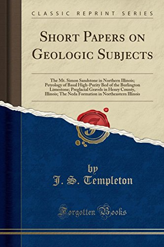 Short Papers on Geologic Subjects