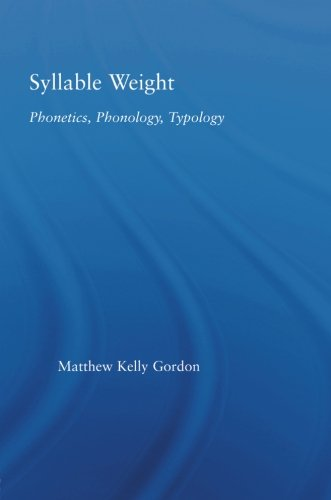 Syllable Weight