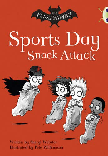 Bug Club Gold A/2B The Fang Family: Sports Day Snack Attack 6-pack