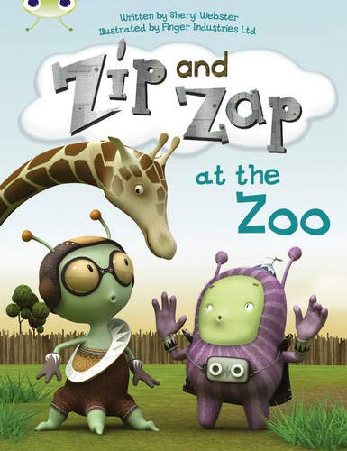 Bug Club Guided Fiction Year 1 Yellow C Zip and Zap at the Zoo