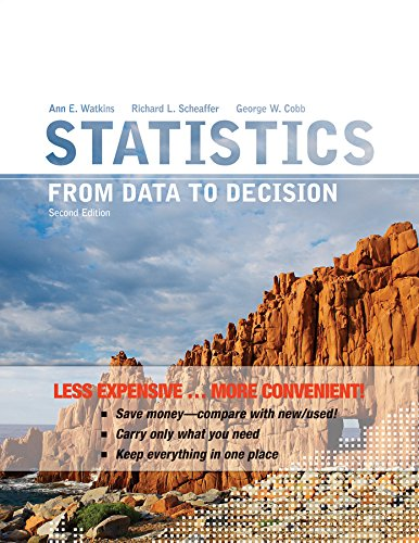 Statistics: From Data to Decision 2e Binder Ready Version + WileyPLUS Registration Card