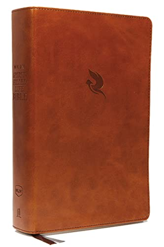 NKJV, Spirit-Filled Life Bible, Third Edition, Leathersoft, Brown, Red Letter, Comfort Print