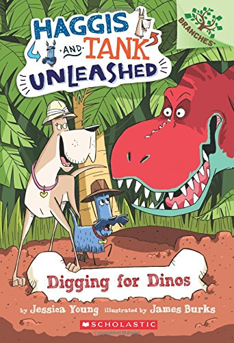 Digging for Dinos: A Branches Book (Haggis and Tank Unleashed #2), 2