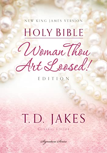 NKJV, Woman Thou Art Loosed, Hardcover, Red Letter