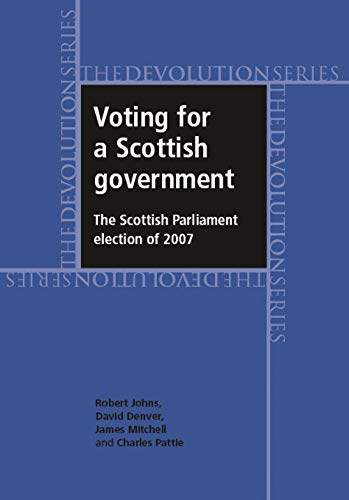 Voting for a Scottish Government