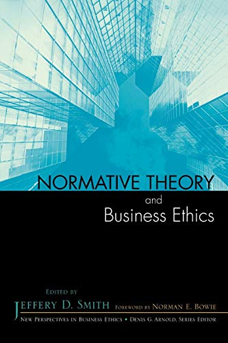 Normative Theory and Business Ethics