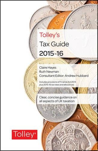 Tolley's Tax Guide 2015-16