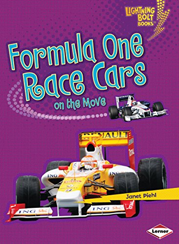 Formula One Race Cars on the Move