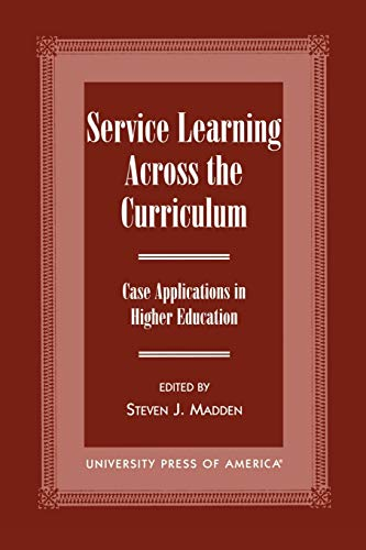 Service Learning Across the Curriculum