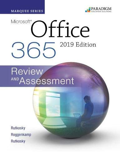 Marquee Series: Microsoft Office 2019