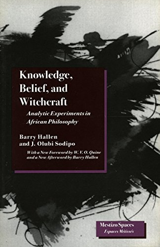 Knowledge, Belief, and Witchcraft