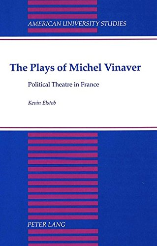The Plays of Michel Vinaver