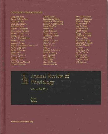 Annual Review of Physiology 2014