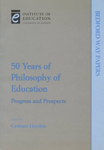 Fifty Years of Philosophy of Education