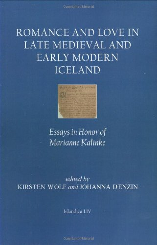 Romance and Love in Late Medieval and Early Modern Iceland