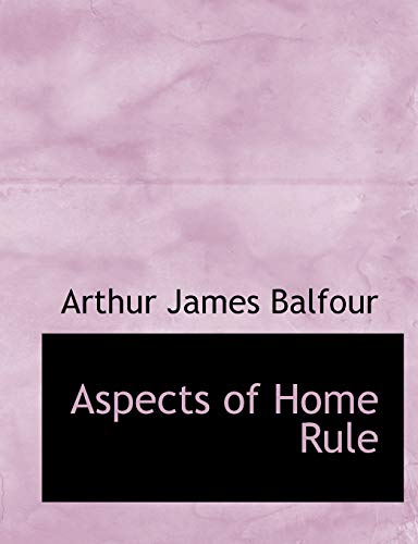 Aspects of Home Rule