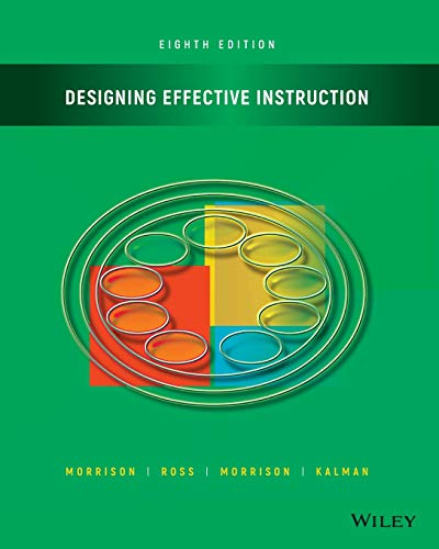 Designing Effective Instruction