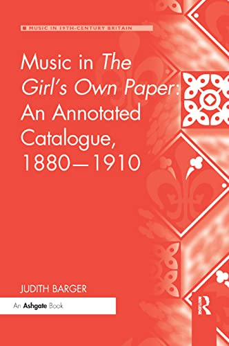 Music in The Girl's Own Paper: An Annotated Catalogue, 1880-1910