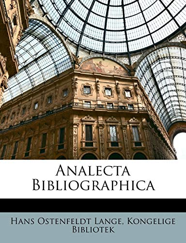 Analecta Bibliographica