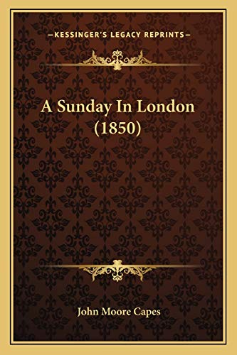 A Sunday In London (1850)
