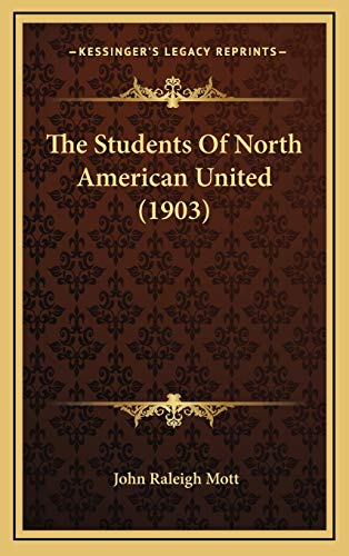 The Students Of North American United (1903)