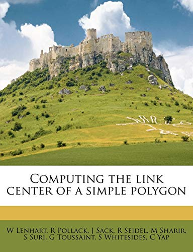 Computing the Link Center of a Simple Polygon