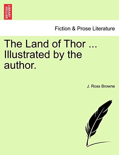 The Land of Thor ... Illustrated by the author.
