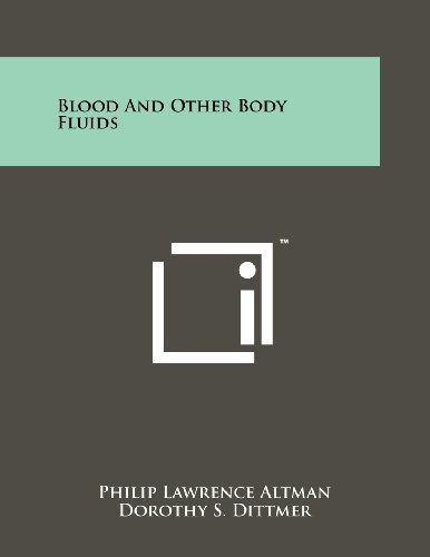 Blood And Other Body Fluids
