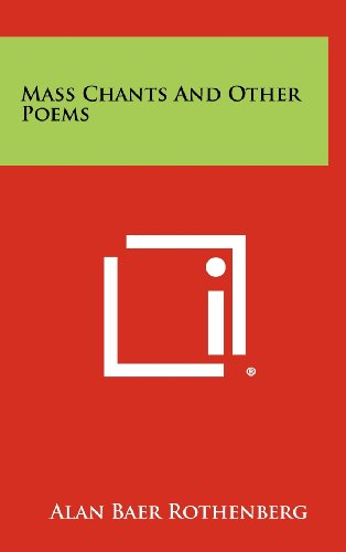 Mass Chants And Other Poems
