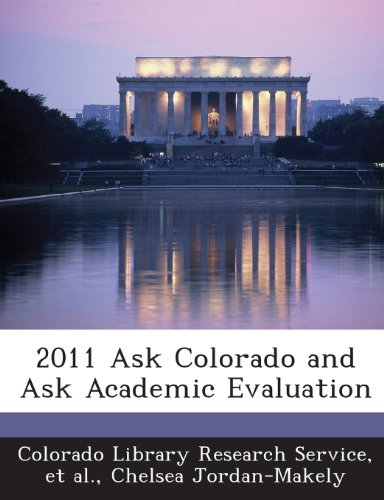 2011 Ask Colorado and Ask Academic Evaluation