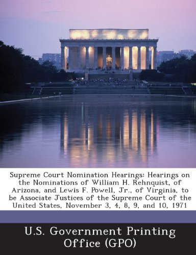 Supreme Court Nomination Hearings