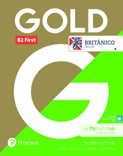 Gold B2 First Students Course Book for Britanico for Pack