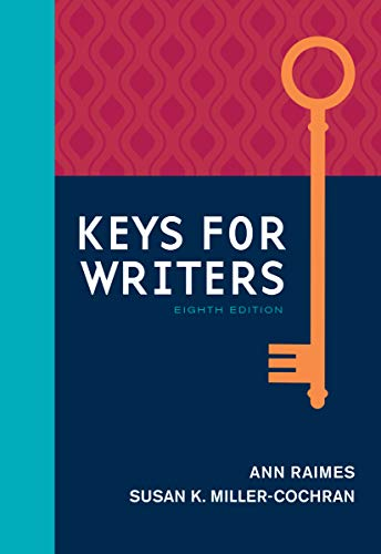 Keys for Writers with APA 7e Updates, Spiral bound Version