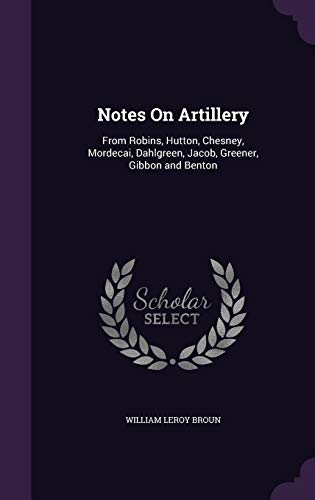 Notes on Artillery