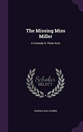 The Missing Miss Miller