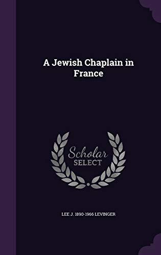 A Jewish Chaplain in France