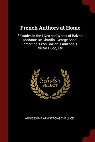 French Authors at Home