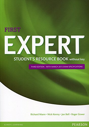 Expert First 3rd Edition Student's Resource Book without Key